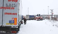 Kar Yağışı Nedeniyle Bulgaristan ile Kara Ulaşımı Durdu