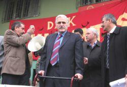 Nakliyat İş Sendikası'na Yapılan Baskın ve Gözaltılar Protesto Edildi