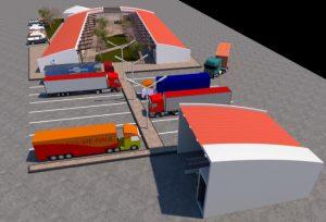 Biga'da Nakliyeciler Sitesi Projesi Hazır